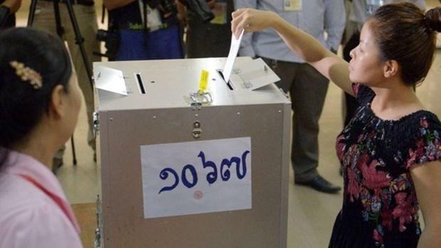 Camboya publica lista de votantes hinh anh 1
