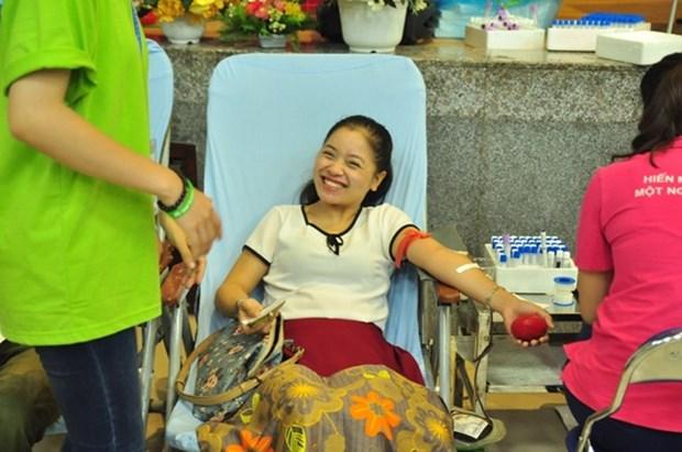 Celebraran en 25 localidades vietnamitas campana dominical de donacion de sangre hinh anh 1