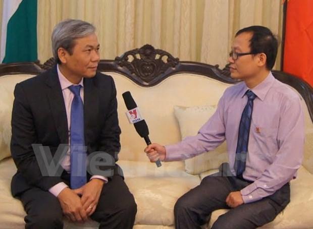 Comparten Vietnam e India intereses estrategicos, afirma embajador hinh anh 1