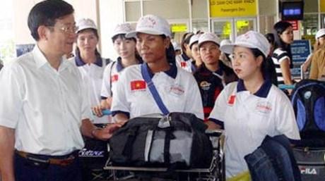 En alza cantidad de trabajadores vietnamitas en exterior hinh anh 1