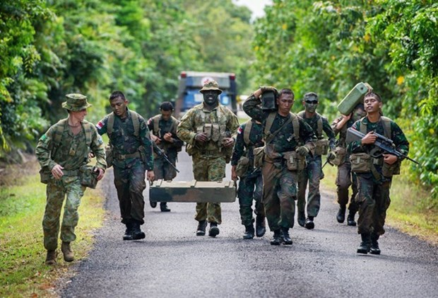 Indonesia rechaza informacion sobre suspension de cooperacion militar con Australia hinh anh 1