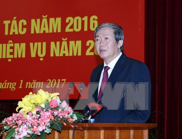 Dirigente vietnamita enfatiza importancia del trabajo de movilizacion de masas hinh anh 1