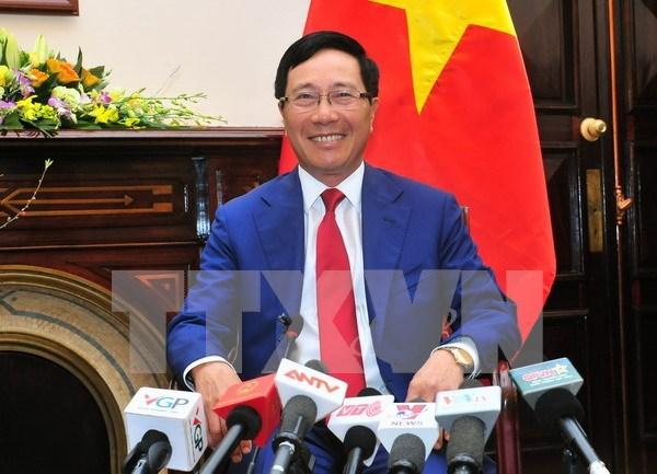 Vietnam persiste en la politica exterior de autodeterminacion, dice vicepremier hinh anh 1