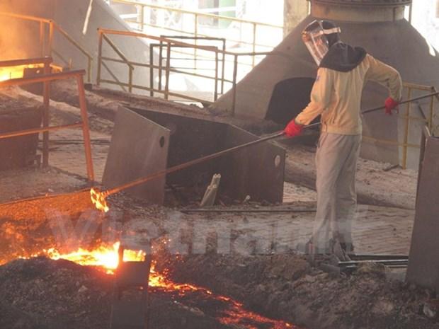 Sector de acero de Vietnam crecera 12 por ciento en 2017 hinh anh 1