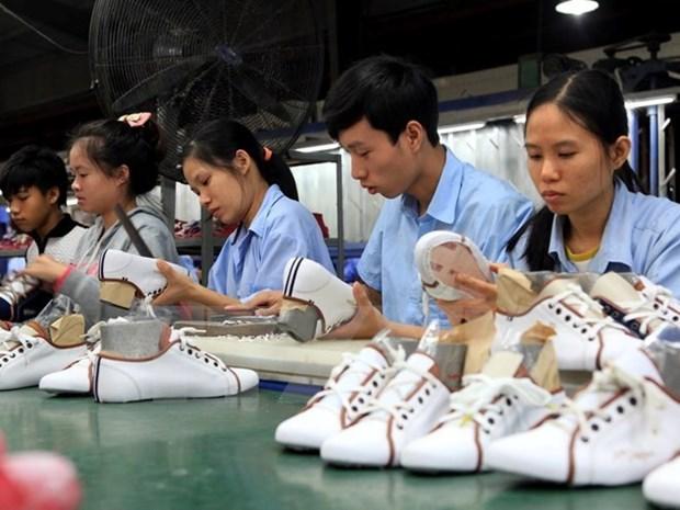 Industria de calzado de Vietnam preve ingresos multimillonarios de exportaciones en 2017 hinh anh 1