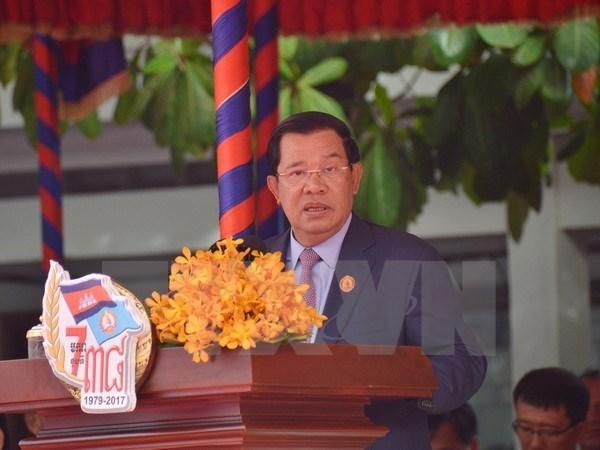 Camboya conmemora victoria sobre el regimen genocida de Khmer Rojo hinh anh 1