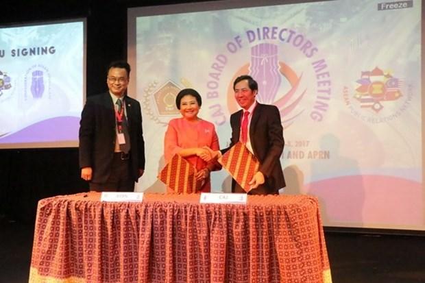 Destacan aportes de periodistas al desarrollo de ASEAN hinh anh 1