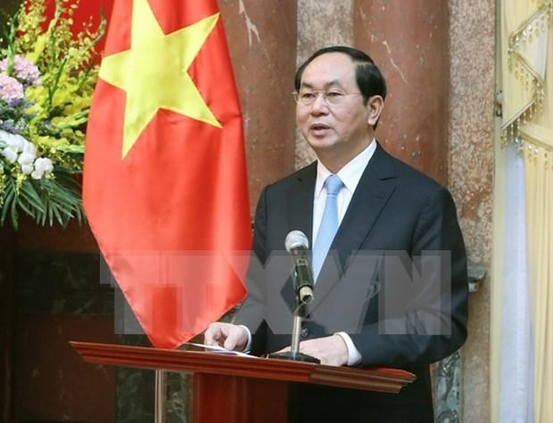 Presidente exhorta a fomentar marcas comerciales de Vietnam hinh anh 1