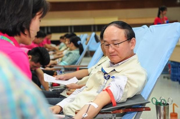"""Convocan en Vietnam movimiento de donacion de sangre """"Domingo rojo"""" hinh anh 1"""