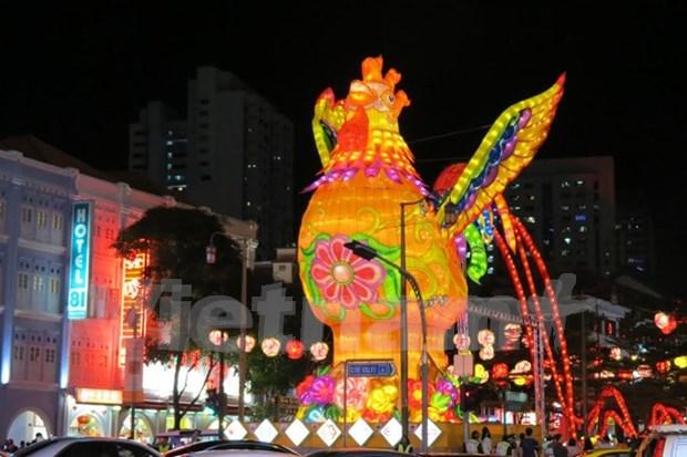 Vietnamitas en Taiwan celebran nuevo ano lunar 2017 hinh anh 1