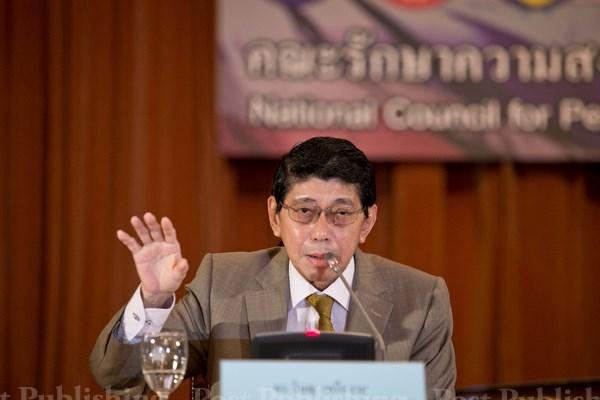 Tailandia realizara elecciones 19 meses tras aprobacion de nueva Constitucion hinh anh 1