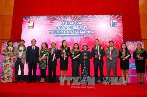 Honran a las marcas comerciales preferidas de Vietnam hinh anh 1