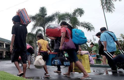 Filipinas: Masiva evacuacion por depresion tropical hinh anh 1