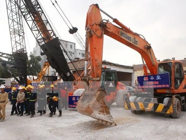 Ha Giang construye nuevo puente para aliviar atasco del trafico hinh anh 1