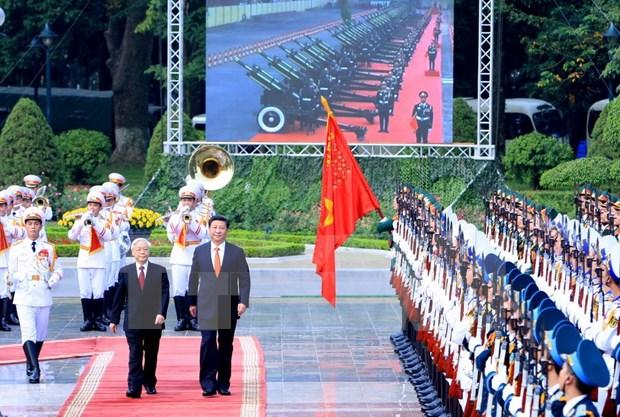 Relaciones Vietnam–China mantienen desarrollo estable hinh anh 1