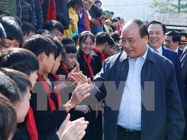 Premier de Vietnam da luz verde a propuesta de desarrollo en puerta fronteriza hinh anh 1