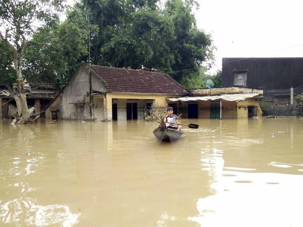 Reciben donaciones provincias vietnamitas afectadas por inundaciones hinh anh 1