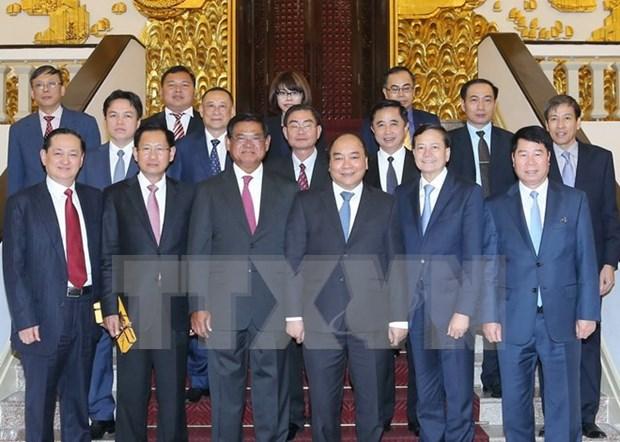 Vietnam aspira a fomentar nexos con Camboya, dijo premier hinh anh 1