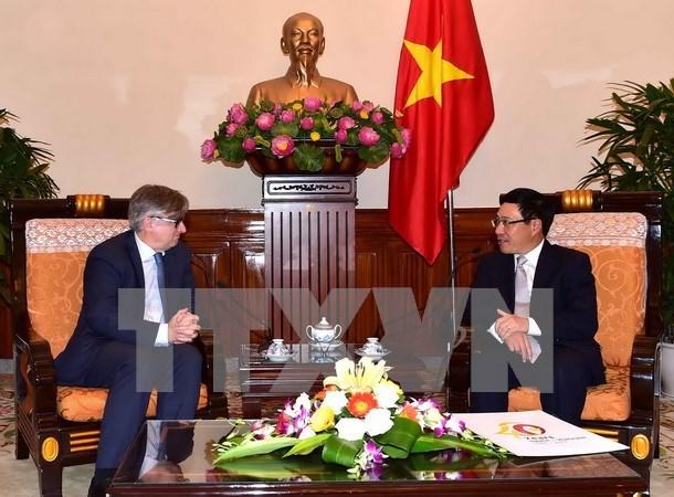 Vicepremier vietnamita promete mejores condiciones para empresas espanolas hinh anh 1