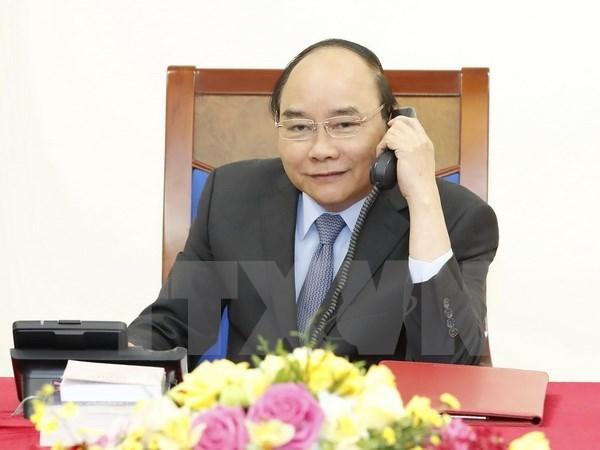 Premier de Vietnam afirma dar prioridad a los nexos de asociacion con Sudcorea hinh anh 1