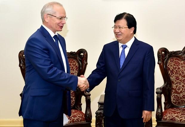 Vietnam dispuesto a respaldar a inversores de Republica de Baskortostan hinh anh 1