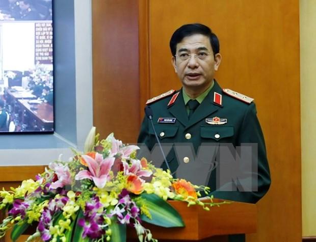 Recibe viceministro vietnamita de Defensa a comandante de fuerza aerea tailandes hinh anh 1