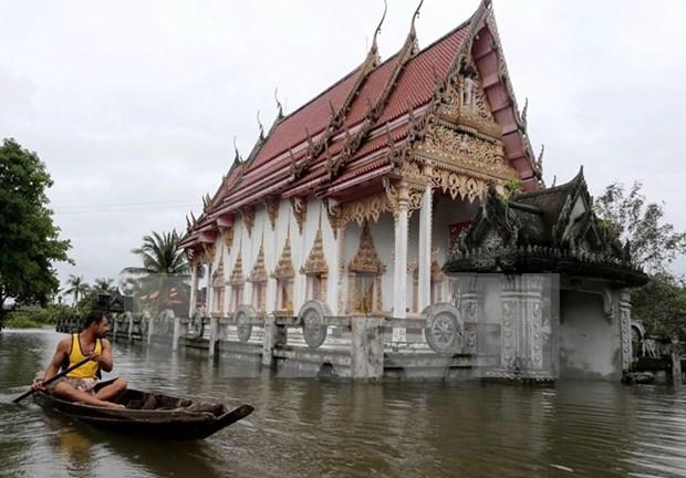 Inundaciones en el Sur de Tailandia dejan 25 muertos hinh anh 1
