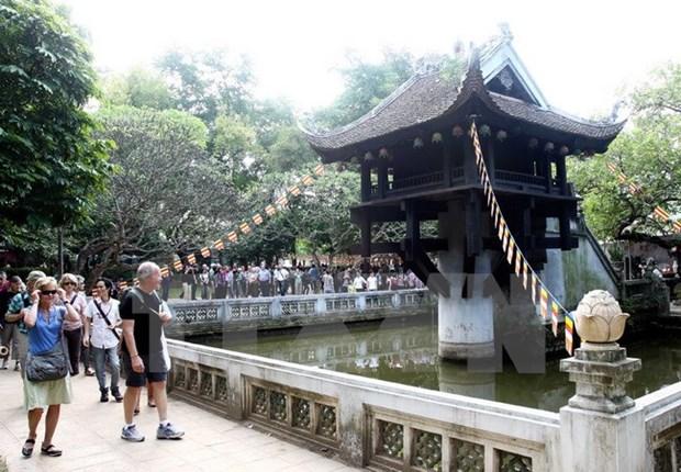 Hanoi aspira a recibir 23,6 millones de turistas en 2017 hinh anh 1