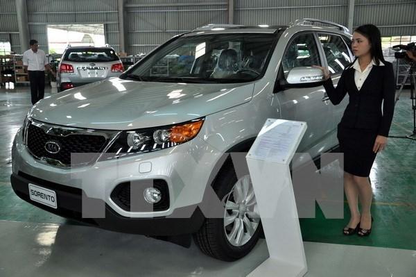 Ventas de automoviles de Vietnam alcanzan nivel record en 20 anos hinh anh 1