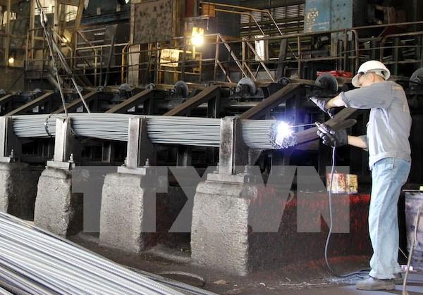 Sector de acero de Vietnam registra gran deficit en 2016 hinh anh 1