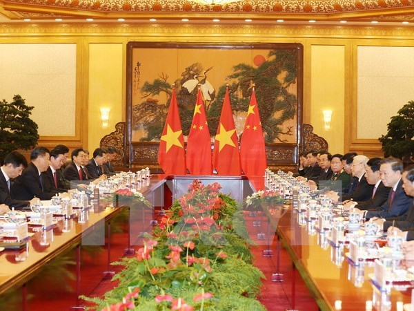 China considera importante la relacion con Vietnam, dice Xi Jingping hinh anh 1
