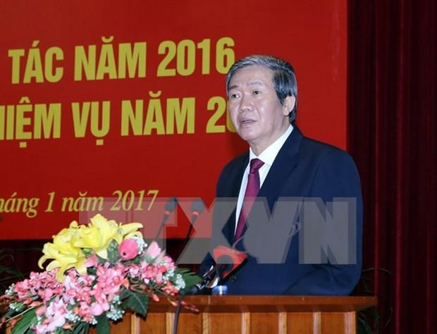 Dirigente partidista pide aumentar papel consultivo en desarrollo socioeconomico hinh anh 1