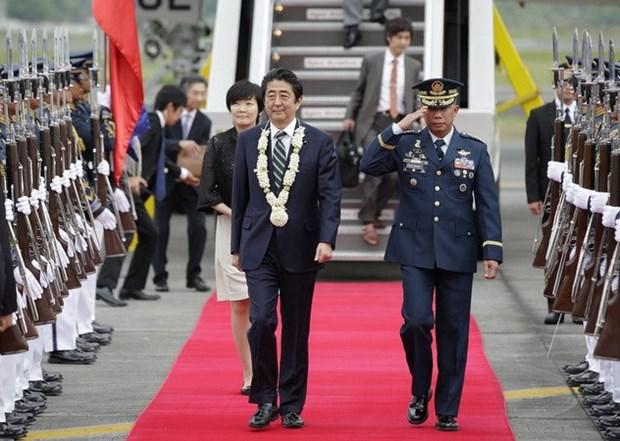 Primer ministro de Japon visita Filipinas hinh anh 1