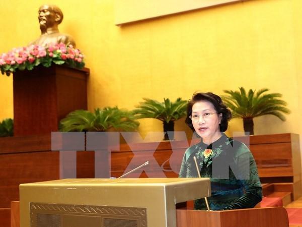 La Asamblea Nacional de Vietnam revisa trabajos realizados hinh anh 1
