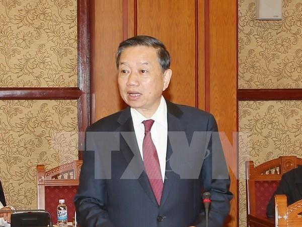 Ministro vietnamita se reune con altos funcionarios chinos de Seguridad hinh anh 1