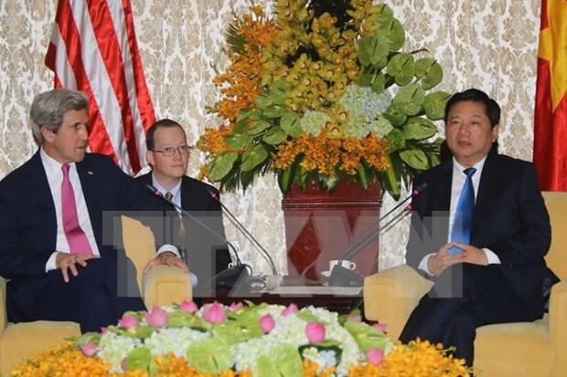 Secretario de Estado de Estados Unidos aprecia relaciones con Vietnam hinh anh 1