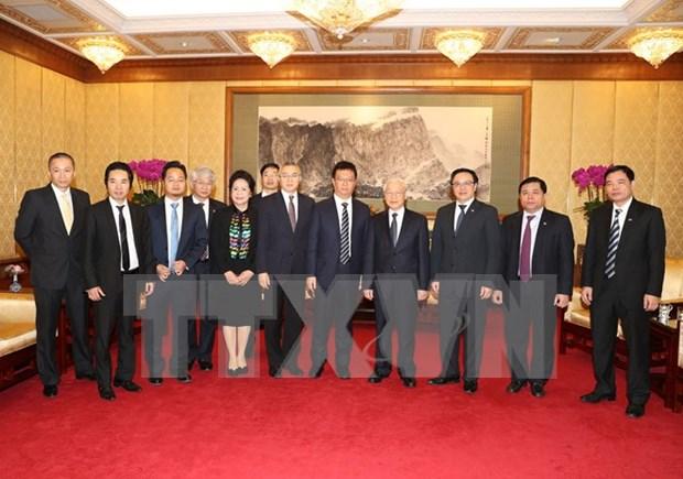 Vietnam invita proyectos de inversion chinos con tecnologia moderna hinh anh 1