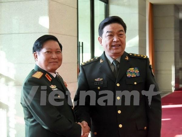 Vietnam y China determinados a elevar cooperacion en defensa a nueva altura hinh anh 1