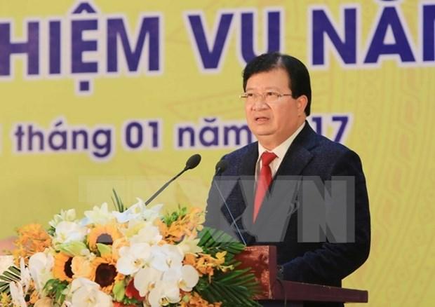 Vicepremier sugiere a la Corporacion de Industria Quimica centrarse en nuevos proyectos hinh anh 1