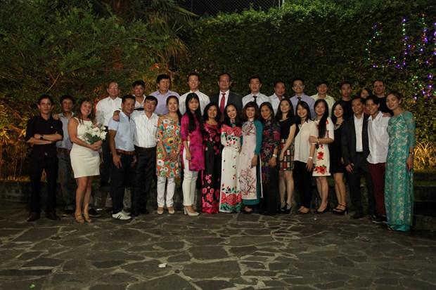 Comunidad vietnamita en Argentina celebra Ano Nuevo Lunar de 2017 hinh anh 1