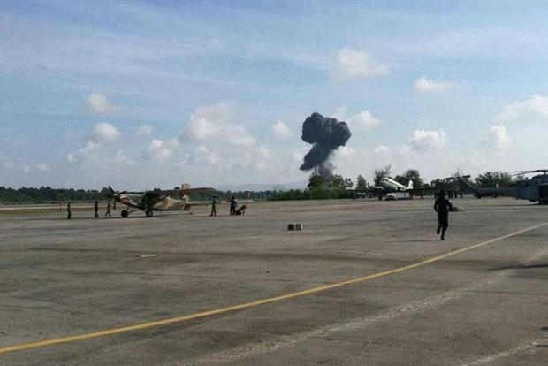 Fallece piloto militar en exhibicion aerea en Tailandia hinh anh 1