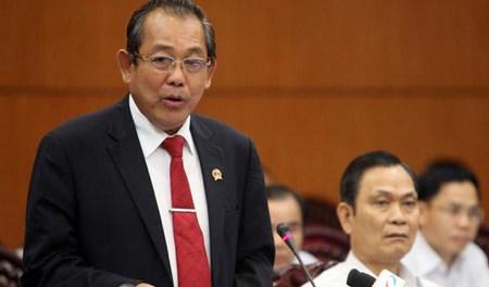 Vicepremier urge a Dak Nong acelerar reforma administrativa para desarrollo economico hinh anh 1