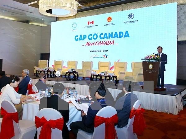 Comercio e inversion, punto sobresaliente en nexos Vietnam-Canada hinh anh 1