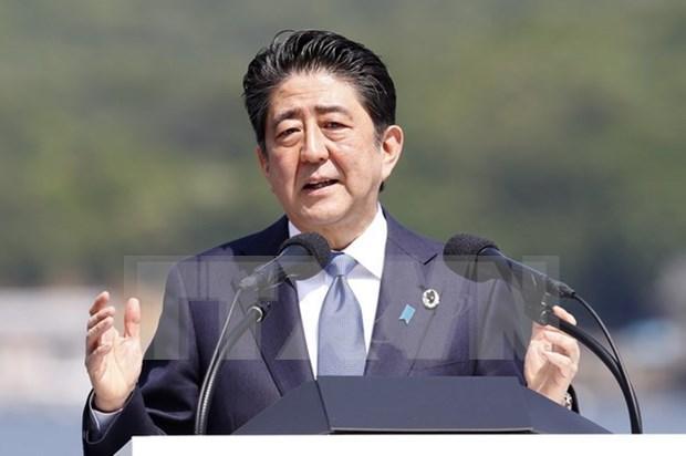Primer ministro de Japon inicia visita a Vietnam hinh anh 1