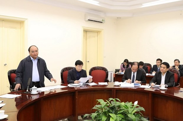 Premier pide a Hanoi impulsar perfeccionamiento de infraestructuras de transporte hinh anh 1