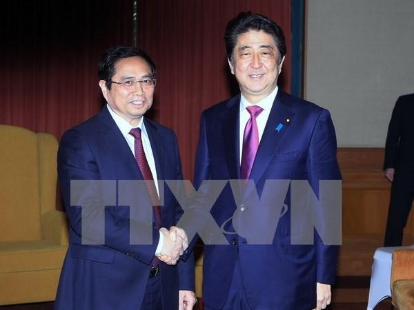 Instan a fortalecer relaciones Vietnam – Japon hinh anh 1