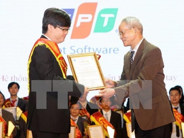 Vietnam lanza premio de tecnologia informatica Sao Khue 2017 hinh anh 1
