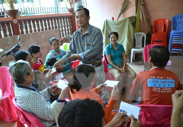 Respaldan a vietnamitas en Camboya afectados por desastres naturales hinh anh 1