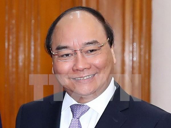 Premier de Vietnam asiste al Foro Economico Mundial en Davos hinh anh 1