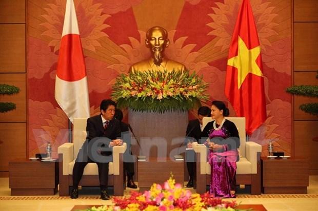 Vietnam y Japon valoran nexos parlamentarios hinh anh 1
